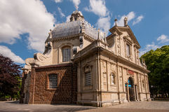 Basilika Scherpenheuvel, Belgien Lizenzfreies Stockfoto