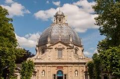 Basilika Scherpenheuvel, Belgien Arkivfoton