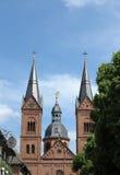 Basilika in Seligenstadt Stockbilder