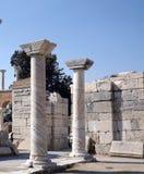 Basilika St John i Selcuk Turkey Arkivbilder