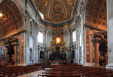 Basilika St Peter s Stockbild