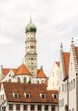 Basilika St Ulrich in Augsburg Stock Fotografie