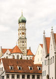 Basilika St. Ulrich in Augsburg Stock Photography