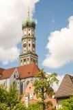 Basilika St. Ulrich in Augsburg. Bavaria, Germany Stock Photos