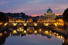 Basilika Str.-Peters, Rom lizenzfreie stockfotografie