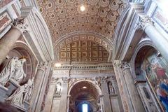 Basilika Str.-Peters in Rom Stockfoto