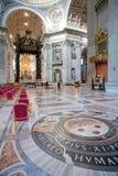 Basilika Str.-Peters in Rom Lizenzfreie Stockfotos