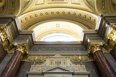 Basilika Str.-Stephens, Budapest lizenzfreie stockbilder