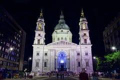 Basilika Str.-Stephens in Budapest stockfoto