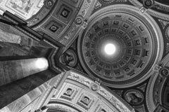 Basilika Str.-Stephens, Budapest (einfarbig) stockfotos