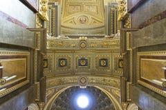 Basilika Str.-Stephens, Decke lizenzfreies stockbild