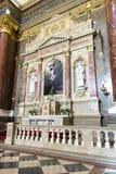 Basilika Str.-Stephens, Jesus-Abbildung lizenzfreies stockbild