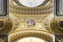 Basilika Str.-Stephens, Jesus-Fresko stockbilder