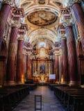 Basilika unserer Dame der unaufhörlichen Hilfe in Posen Lizenzfreie Stockbilder