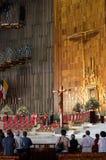 Basilika unserer Dame von Guadalupe in Mexiko City Lizenzfreie Stockfotos