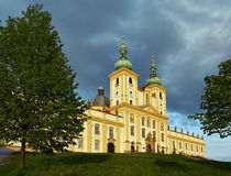 Basilika-Untersatz Lizenzfreies Stockbild