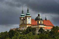 Basilika-Untersatz Lizenzfreie Stockfotos