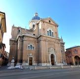 Basilika von Madonna della Ghiara in Reggio Emili Lizenzfreies Stockfoto