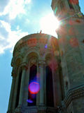 Basilika von Notre-Dame de Fourvière Stockbilder