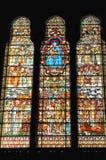 Basilika von Notre Dame de Fourviere, Lyon, Frankreich stockfotografie