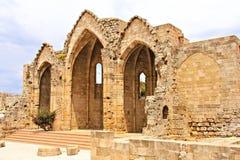 Basilika von Rhodos Stockbilder