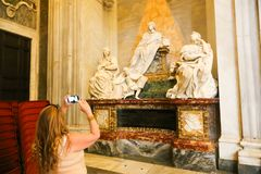 Basilika von Rom Lizenzfreie Stockfotografie