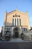 Basilika von San Fermo in Verona lizenzfreies stockbild