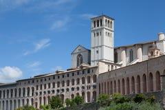 Basilika von San Francesco Assisi stockfotografie