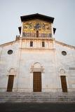 Basilika von San Frediano, Lucca, Toskana, Italien Stockfotografie