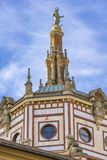 Basilika von San Gervasio e Protasio in Rapallo, Italien stockbilder