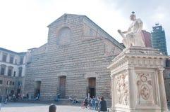 Basilika von San Lorenzo in der historischen Mitte von Florenz Stockbild