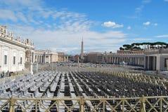 Basilika von San Pietro in der Stadt von Vatikan in Rom Stockbilder
