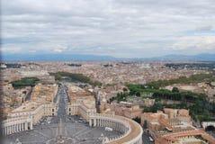 Basilika von San Pietro in der Stadt von Vatikan in Rom Lizenzfreies Stockbild