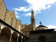 Basilika von Santa Croce Stockbild