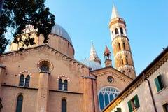 Basilika von Santa Giustina Stockfotografie