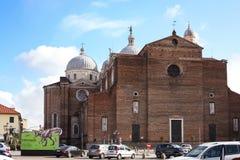 Basilika von Santa Giustina in Padua-Stadt Stockfoto