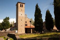 Basilika von Santa Maria Assunta, Muggia Lizenzfreies Stockfoto