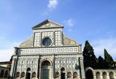 Basilika von Santa Maria Novella - Florenz lizenzfreies stockbild