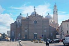 Basilika von St. Giustina Stockfotografie
