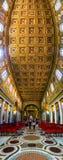 Basilika von St. Mary Major in Rom Stockfotografie