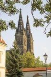 Basilika von St Peter und von St Paul in Prag stockfotos