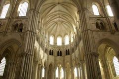 Basilika von Vezelay Stockfotos