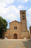 Basilika weihte Heiligem Franziskus von Assisi in Ravenna in Ital ein Lizenzfreie Stockfotografie
