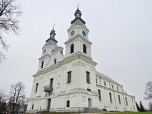 Basilika Zemaiciu Kalvarija, Litauen Stockbild
