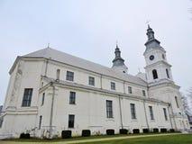 Basilika Zemaiciu Kalvarija, Litauen lizenzfreies stockbild