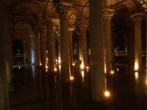Basilika-Zisterne stockbild