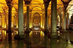 Basilika-Zisterne Lizenzfreie Stockfotos