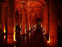 Basilika-Zisterne Stockfoto