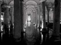 Basilika-Zisterne Stockfotografie
