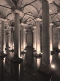 Basilika-Zisterne Stockfotos